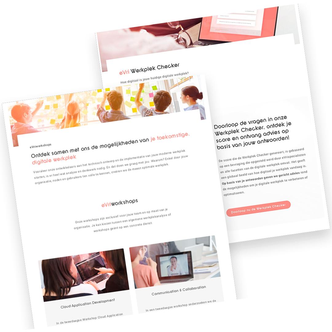 Een digitale werkplek voor eVri Voorbeeld Werkplekchecker