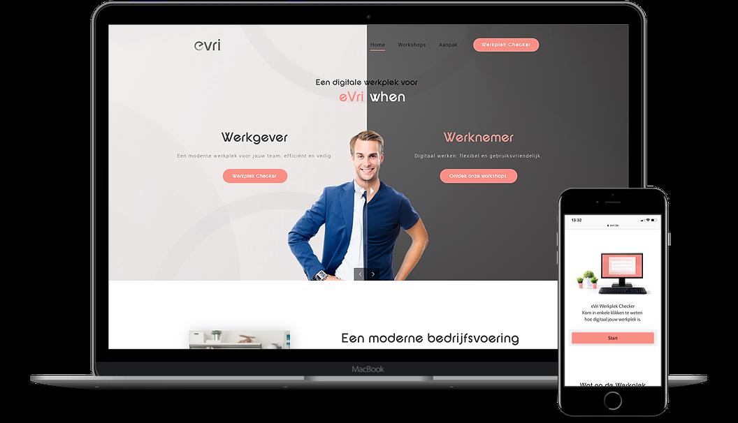 RMDY Refcase eVri_homepage: een digitale werkplek