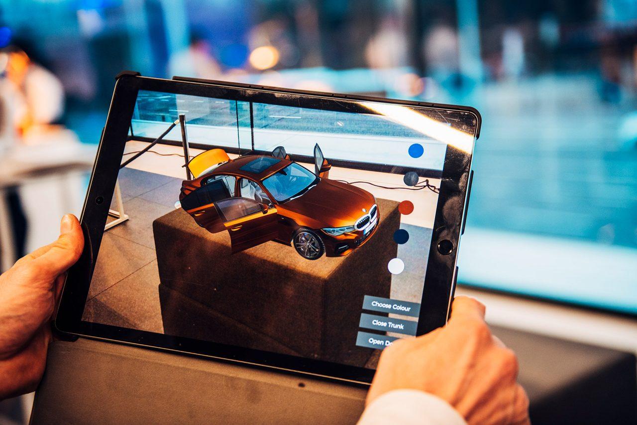 Verrijkte AR-beleving voor de BMW 3 reeks Berline