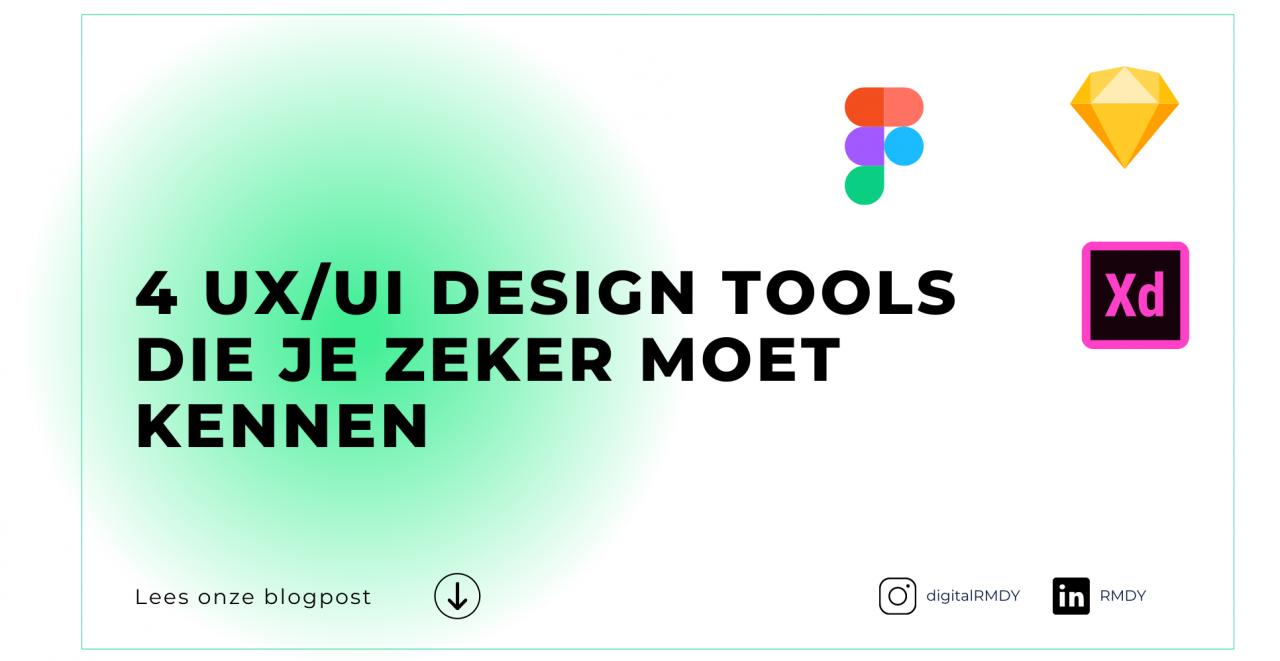 4 design tools die je zeker moet kennen