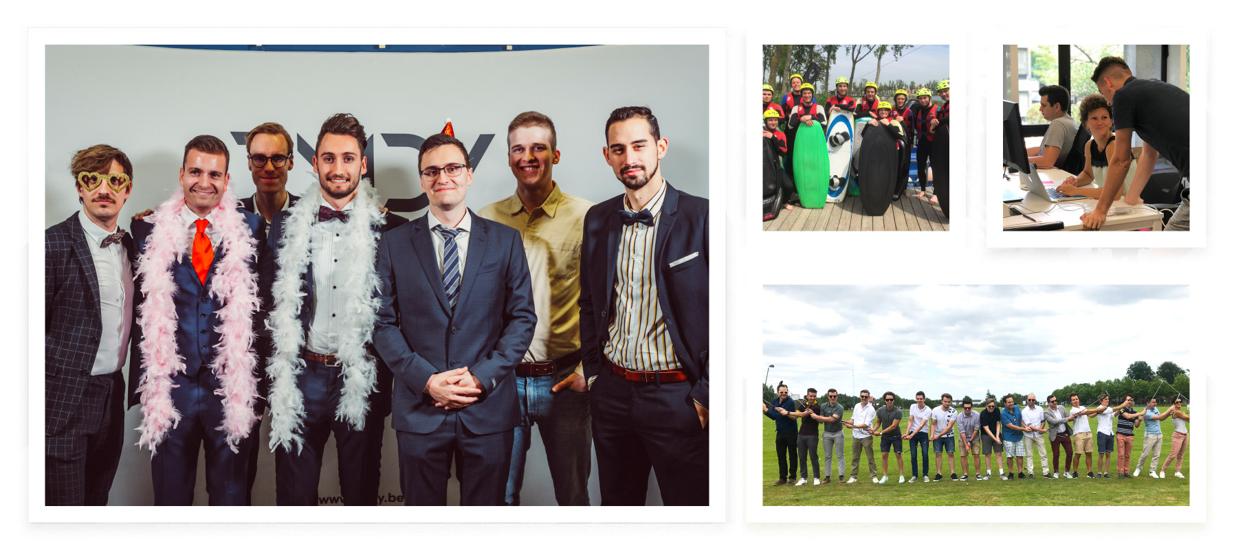 RMDY Vacatures - Fotocollage collega's