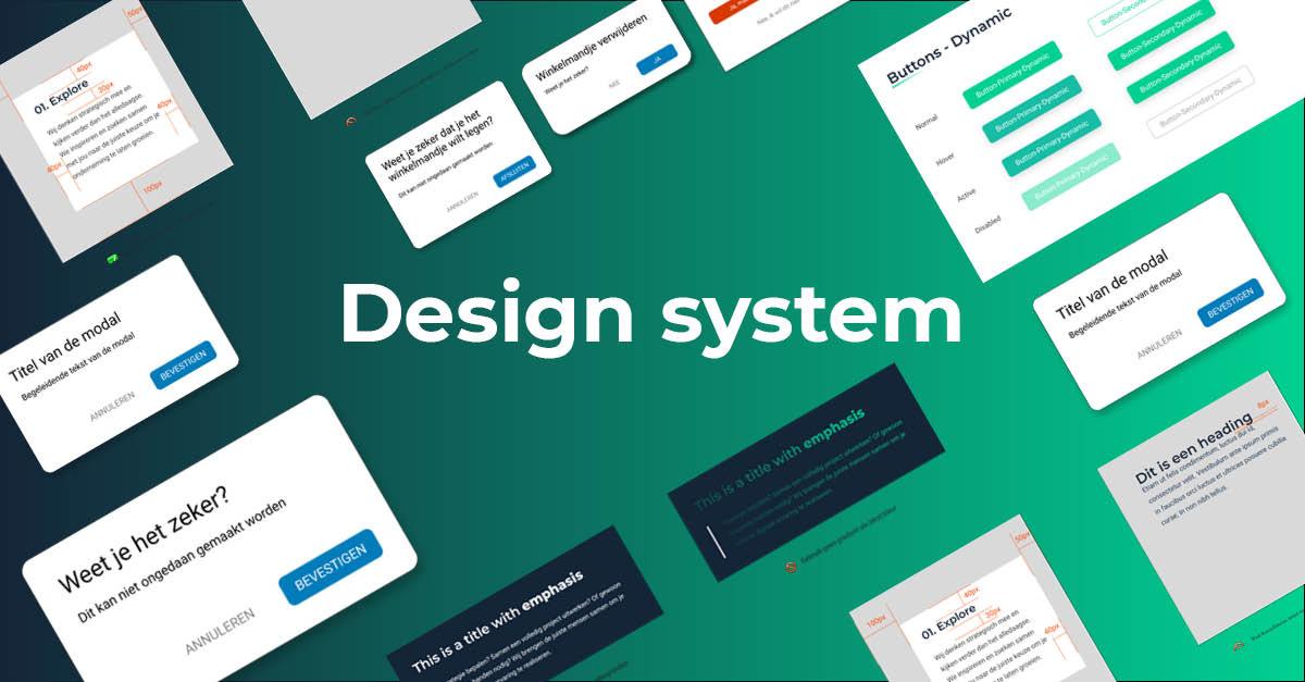 Design system: gewoon elegant of echt essentieel?