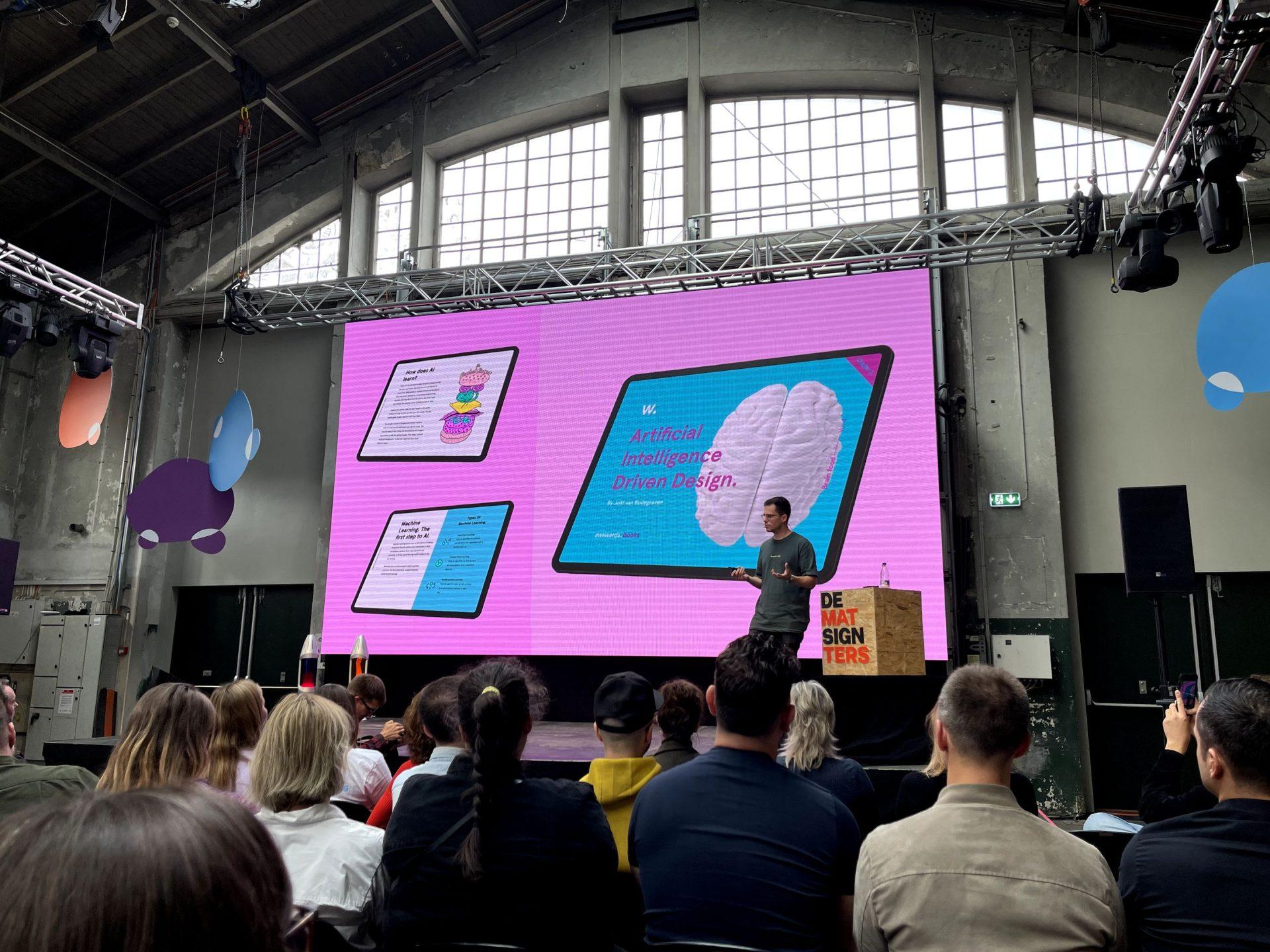 """""""AI Driven Design"""" door Joël Van Bodegraven"""